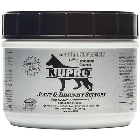 Nupro Joint and Immunity Support Dog Supplement