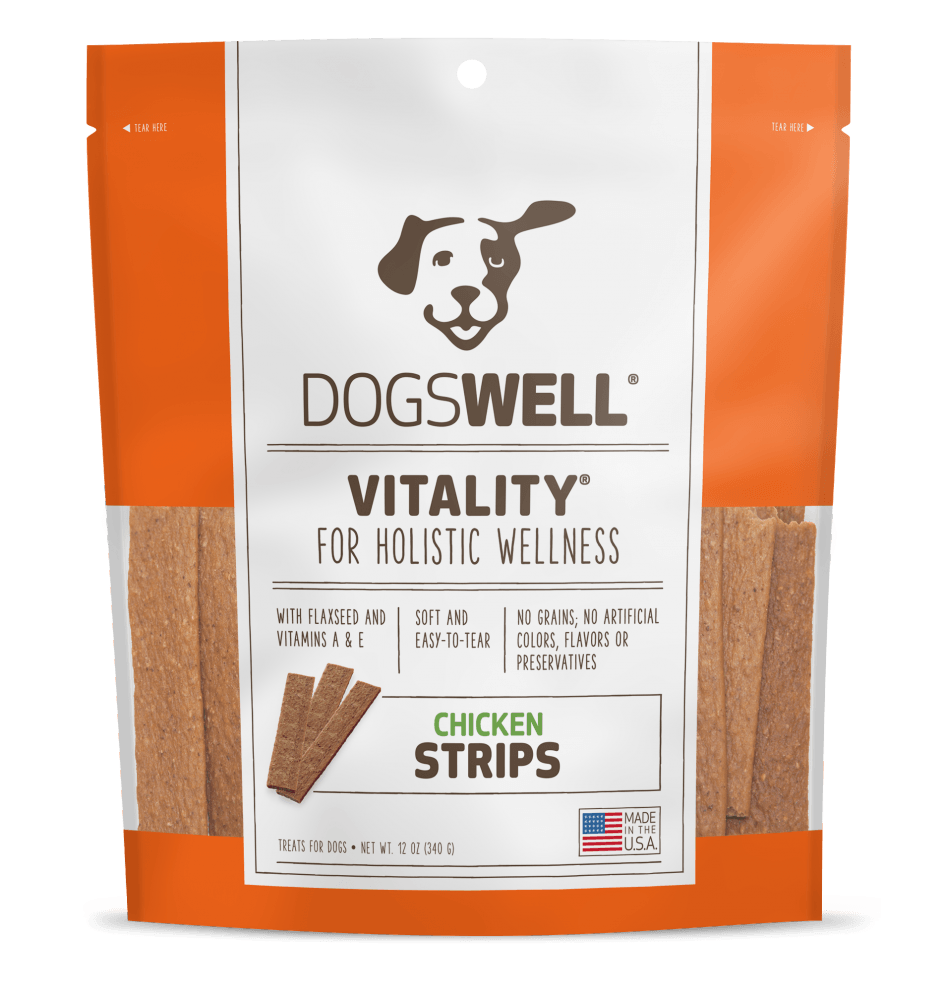 VITALITY Chicken Strips Dog Treats