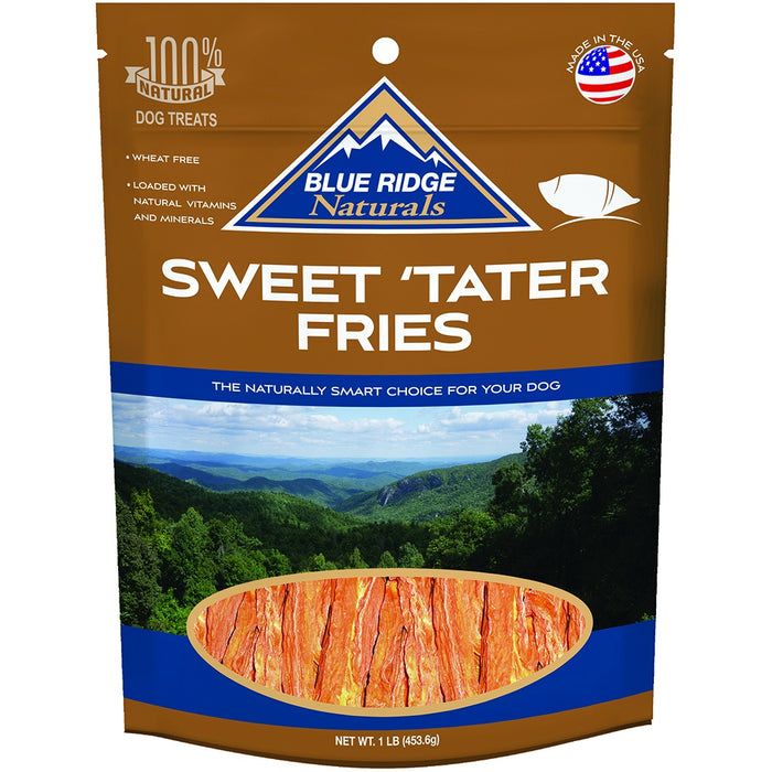 Blue Ridge Naturals Sweet Tater Fries Dog Treats - Blue Ridge Naturals | Peacebone