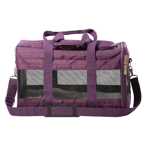 Sherpa Original Deluxe Purple Pet Carrier