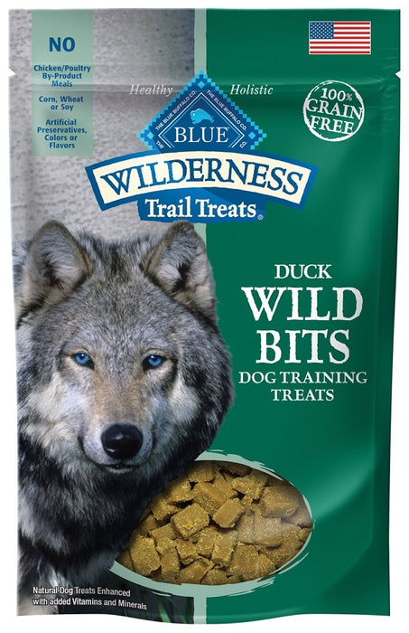 Blue Buffalo Wilderness Trail Treats Duck Wild Bits Dog Treats - Blue Buffalo | Peacebone