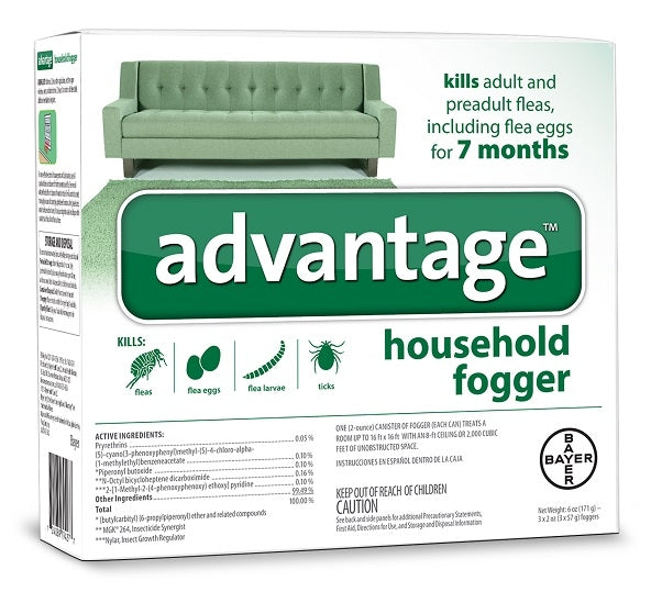 Bayer Advantage Household Fogger - Bayer | Peacebone