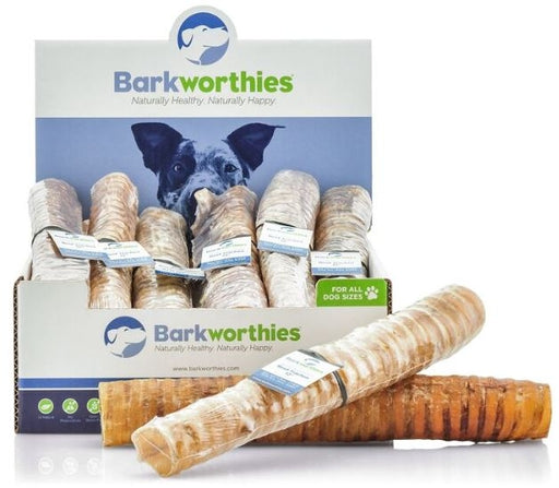 Barkworthies Beef Trachea Dog Treats - Barkworthies | Peacebone