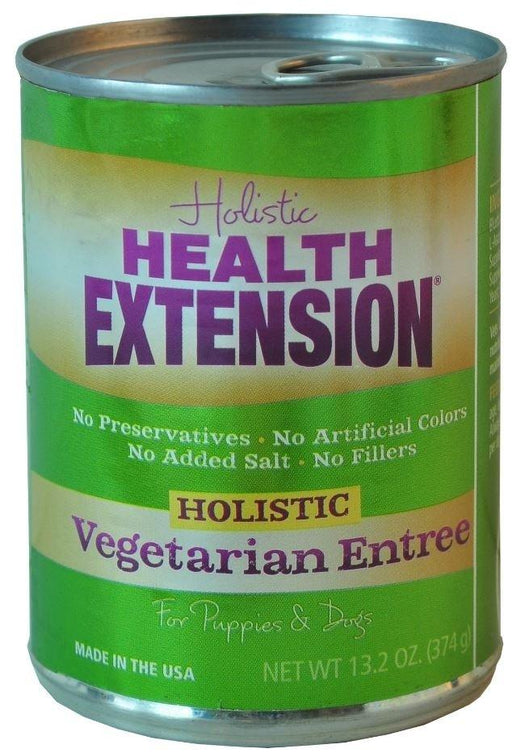 Health Extension Holistic Vegetarian Entree Canned Dog Food - Health Extension | Peacebone