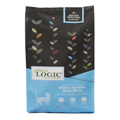 Nature's Logic Feline Sardine Meal Feast Dry Cat Food