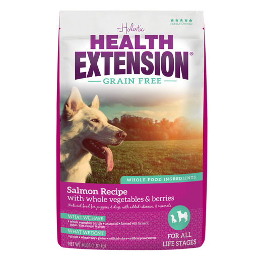 Health Extension Grain Free Salmon Recipe Dry Dog Food