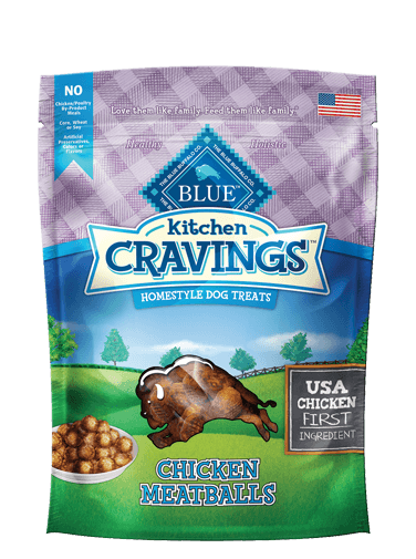 Blue Buffalo Kitchen Cravings Chicken Meatball Dog Treats - Blue Buffalo | Peacebone