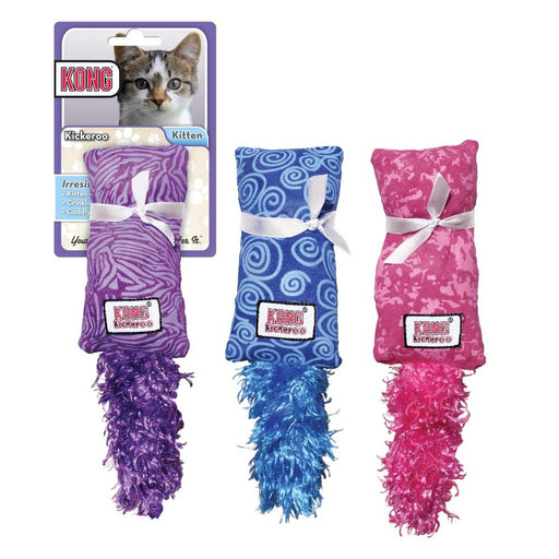 KONG Kitten Kickeroo Catnip Toy - KONG | Peacebone