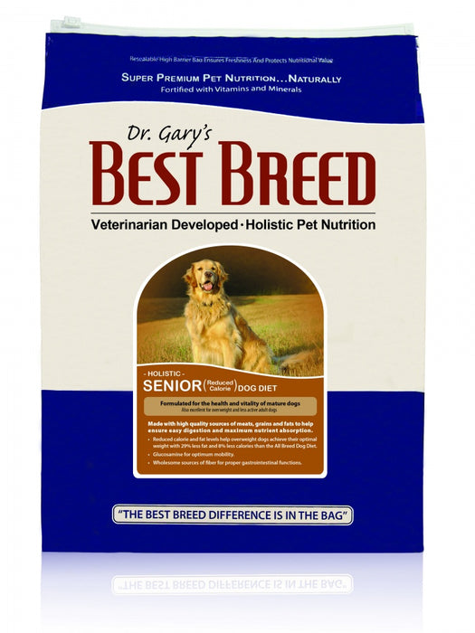 Dr. Gary's Best Breed Holistic Senior Reduced Calorie Dry Dog Food - Dr. Gary's Best Breed | Peacebone