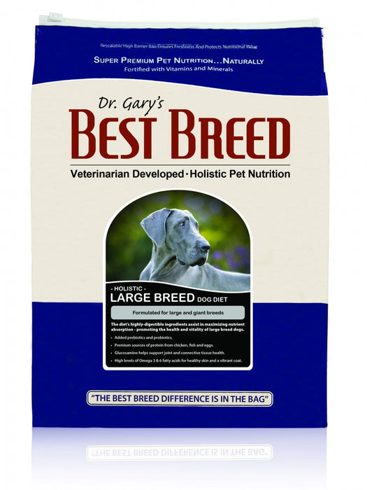Dr. Gary's Best Breed Holistic Large Breed Dry Dog Food - Dr. Gary's Best Breed | Peacebone