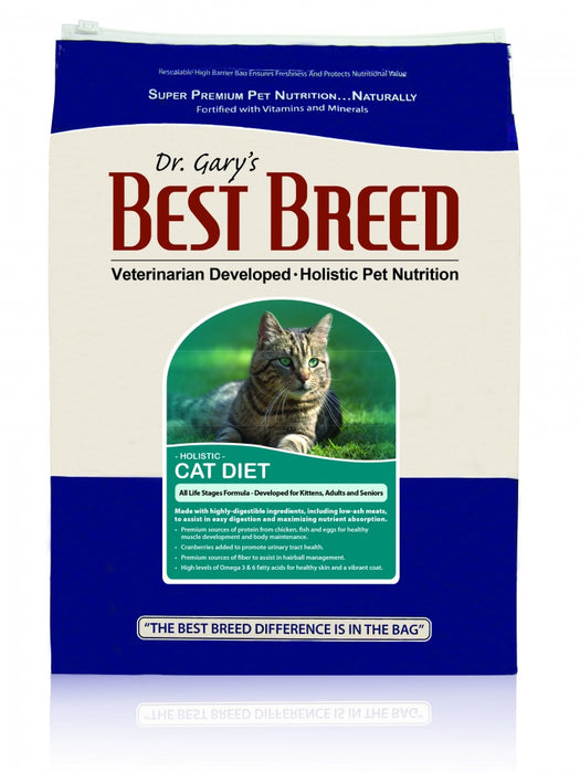 Dr. Gary's Best Breed  All Life Stages Dry Cat Food - Dr. Gary's Best Breed | Peacebone