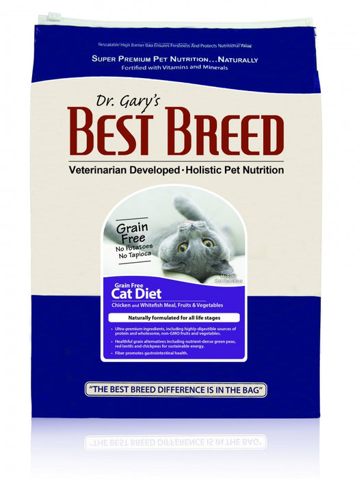 Dr. Gary's Best Breed Grain Free All Life Stages Dry Cat Food - Dr. Gary's Best Breed | Peacebone