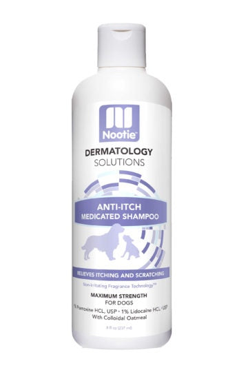 Nootie Dermatology Solutions Anti-Itch Medicated Shampoo For Dogs - Nootie | Peacebone