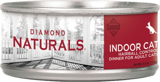 Diamond Naturals Indoor Hairball Control Adult Formula Canned Cat Food