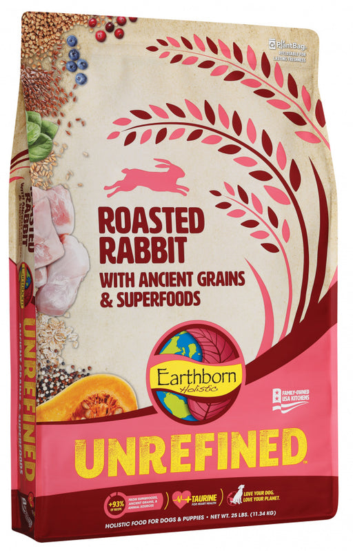Earthborn Holistic Unrefined Roasted Rabbit with Ancient Grains & Superfoods Dry Dog Food