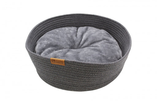BeOneBreed Cat Cuddler Dark Gray Cat Bed