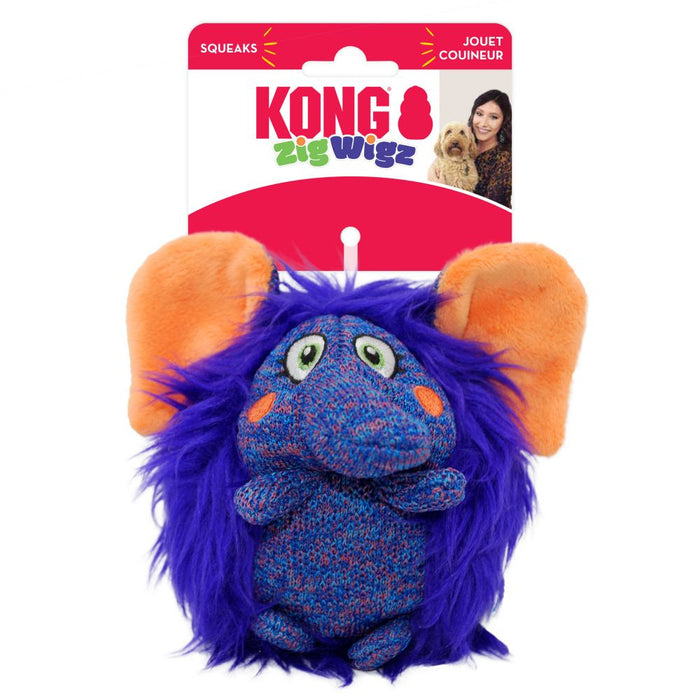 KONG ZigWigz Elephant Dog Toy