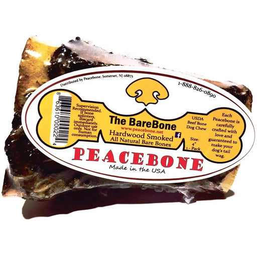 Peacebone The Bare Bone - All Natural Smoked Beef Bone