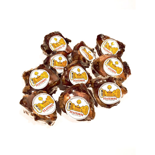 The Pacifier Pack - Peacebone's All Natural Smoked Beef Knee Cap Pack