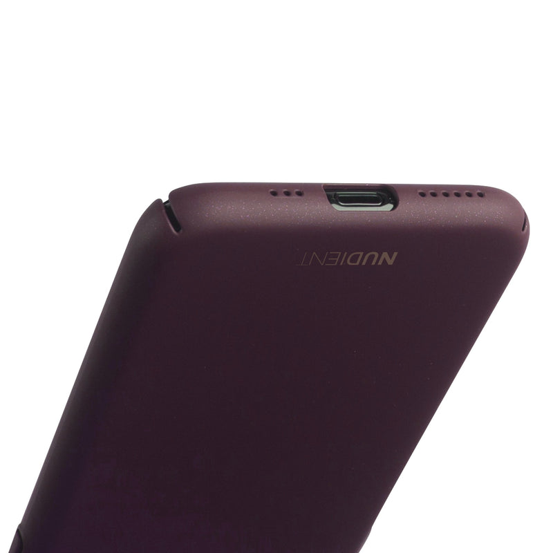Thin iPhone 11 Pro 5,8 case V2 - Sangria Red