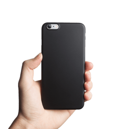 Super thin iPhone 6s Plus case - Solid black