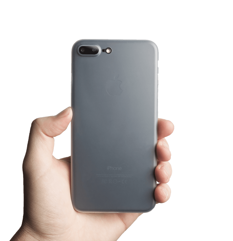 tunt transparent iphone 7 plus skal
