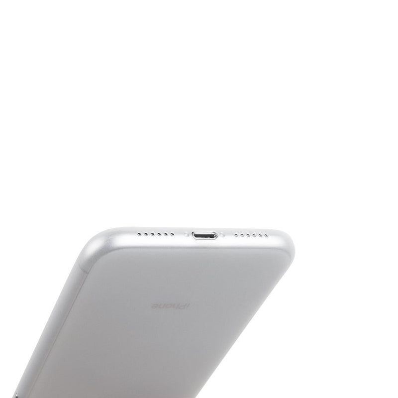 Super thin iPhone XR case 6,1  - Frosted transparent