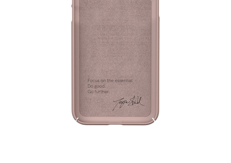 Nudient - Thin iPhone XS Case V3 - Dusty Pink