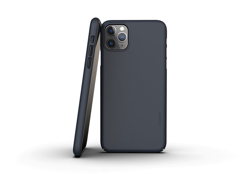 Nudient - Thin iPhone 11 Pro Max Case V3 - Midwinter Blue