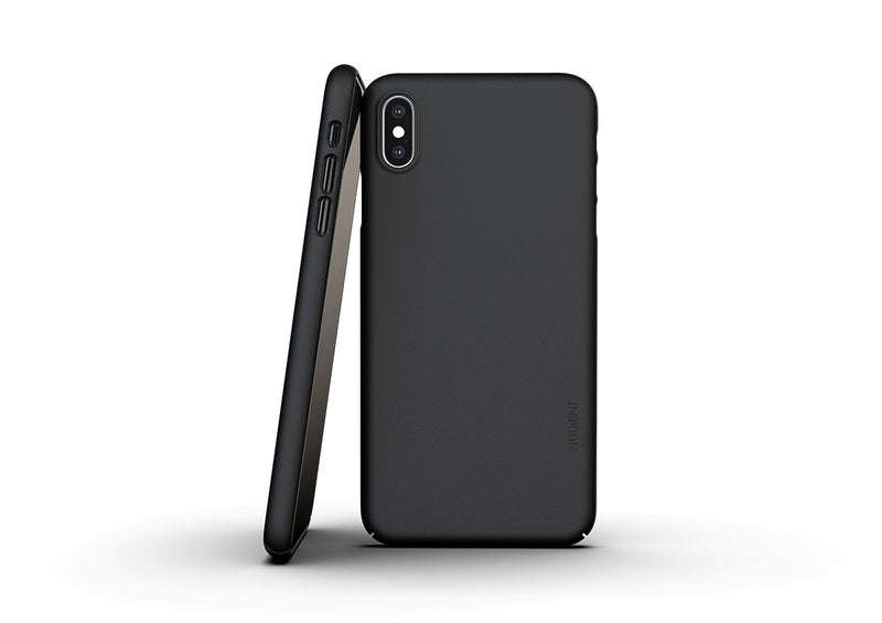 Nudient - Thin iPhone XS Max Case V3 - Ink Black