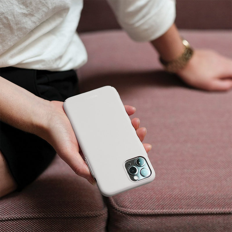 Thin iPhone 11 Pro 5,8 Case V2 - Pearl Grey