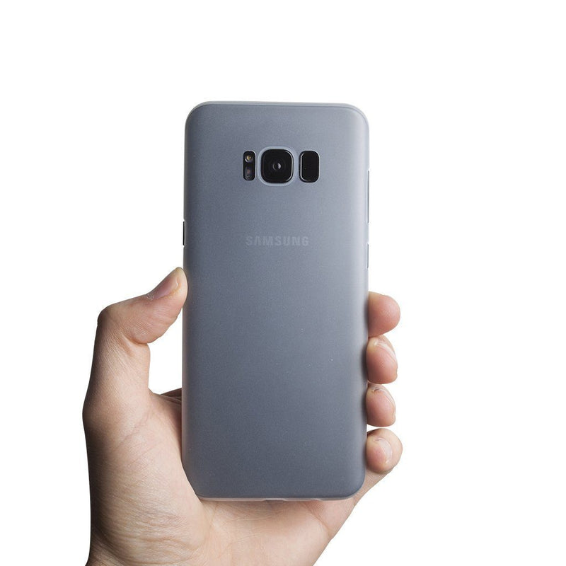 Super thin Samsung S8 Plus case - Frosted transparent