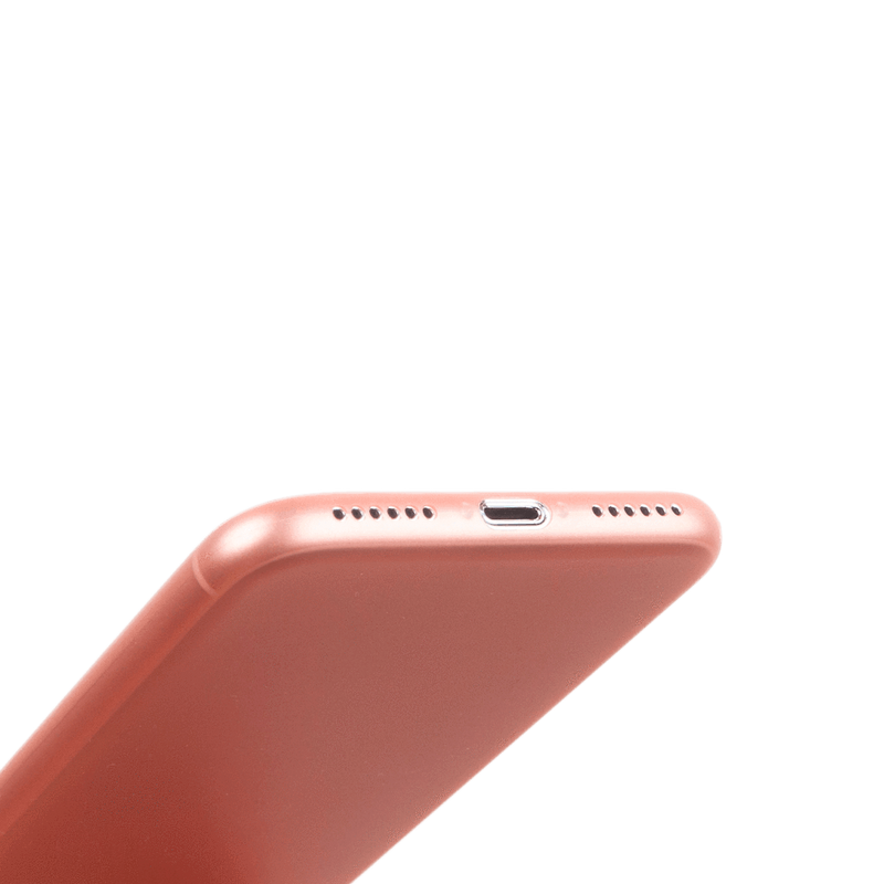 Super thin iPhone 7 case - Rosé transparent