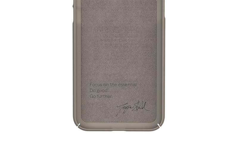 Nudient - Thin iPhone X Case V3 - Clay Beige