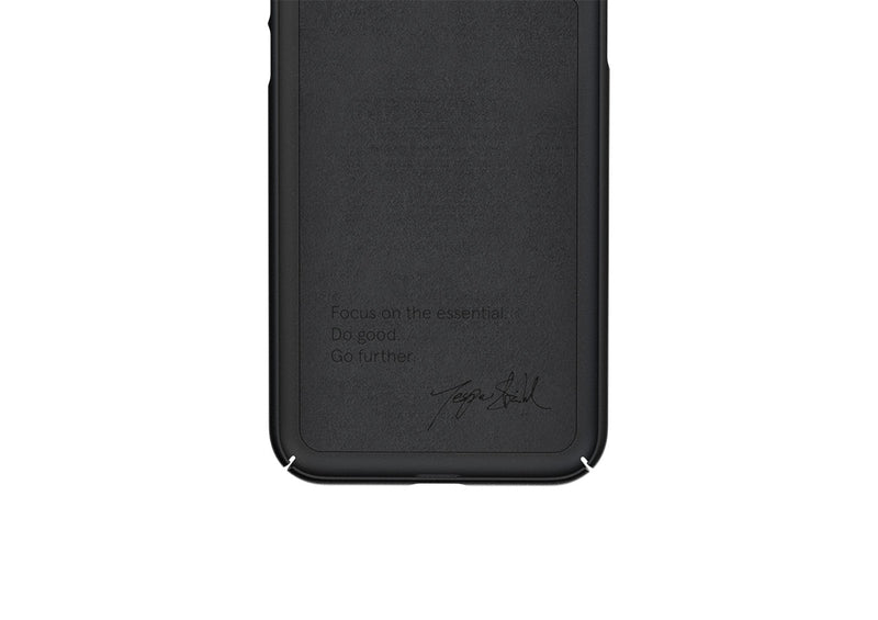 Nudient - Thin iPhone 11 Case V3 - Ink Black