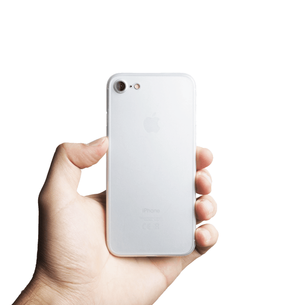 Super thin iPhone 7 case - Frosted transparent