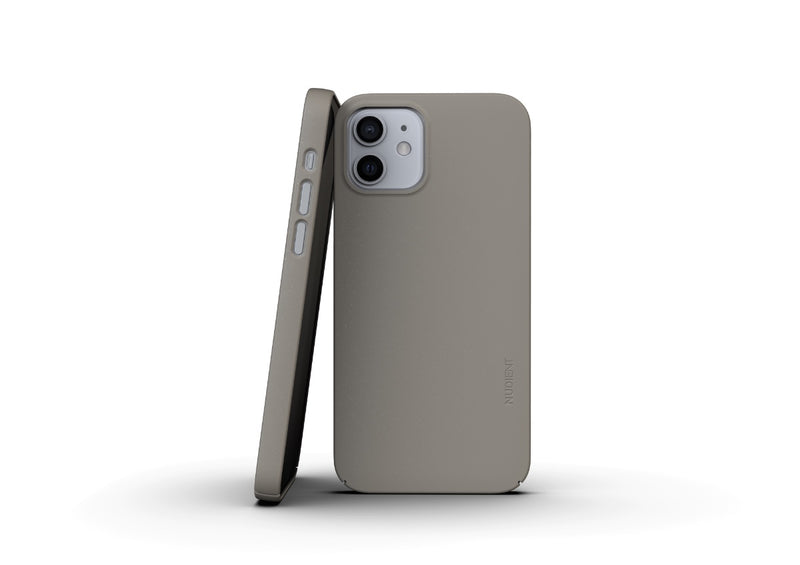 Nudient - Thin iPhone 12 Case V3 - Clay Beige