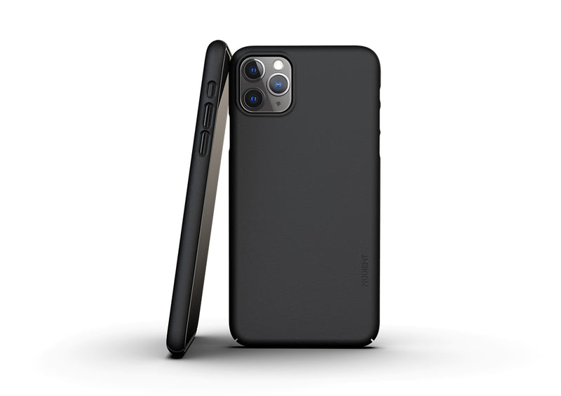 Nudient - Thin iPhone 11 Pro Max Case V3 - Ink Black