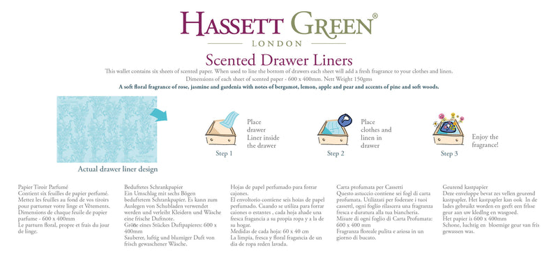 Natural Cotton -  Scented Drawer Liners