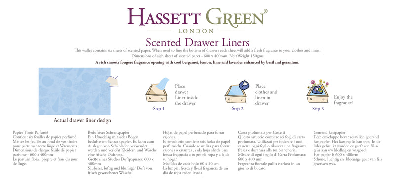 Endless Ocean - Scented Drawer Liners