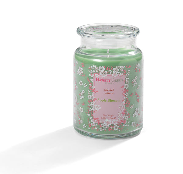 Apple Blossom - Scented Candle Jar 22oz