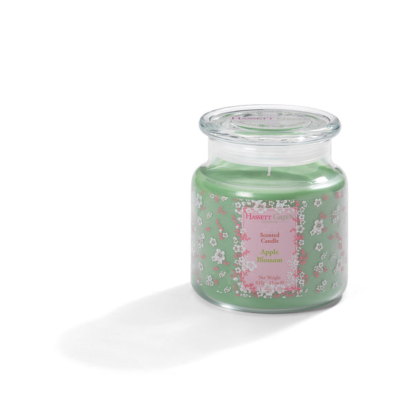 Apple Blossom - Scented Candle Jar 15oz