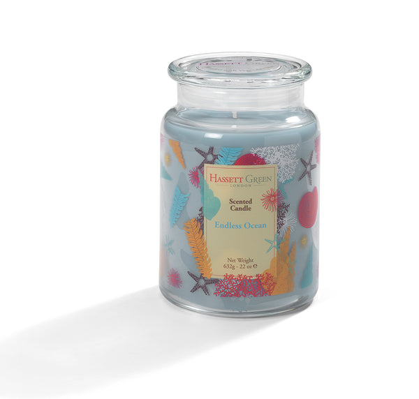 Endless Ocean - Scented Candle Jar 22oz