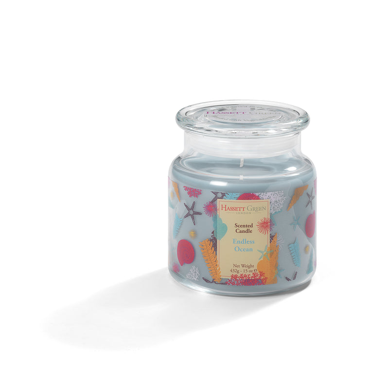 Endless Ocean - Scented Candle Jar 15oz