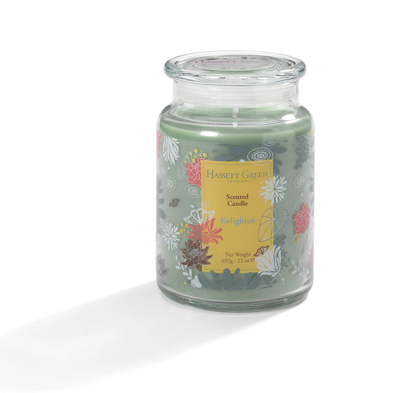 Enlighten - Scented Candle Jar 22oz