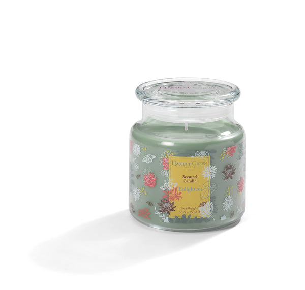 Enlighten - Scented Candle Jar 15oz