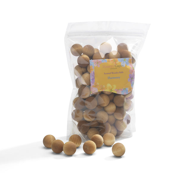 Harmony - Scented Wooden Balls (Pack of 100)