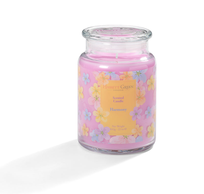 Harmony - Scented Candle Jar 22oz