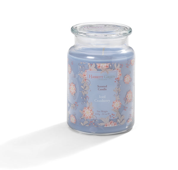 Iced Cranberry - Scented Candle Jar 22oz