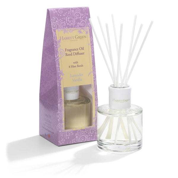 Lavender Vanilla - Fragrance Oil Reed Diffuser 100ml